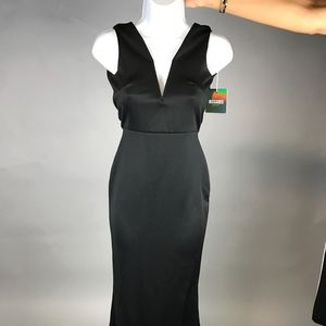 PETITE Black Maxi Dress from Missguided